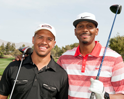 2013 Attendees Miles Austin & Penny Hardaway